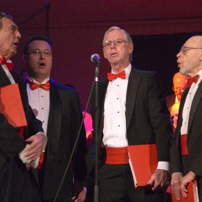 Quartet with Red Ties